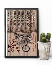 Wife - Motorcycling - When I Say I Love You More 16x24 Poster lifestyle-poster-8
