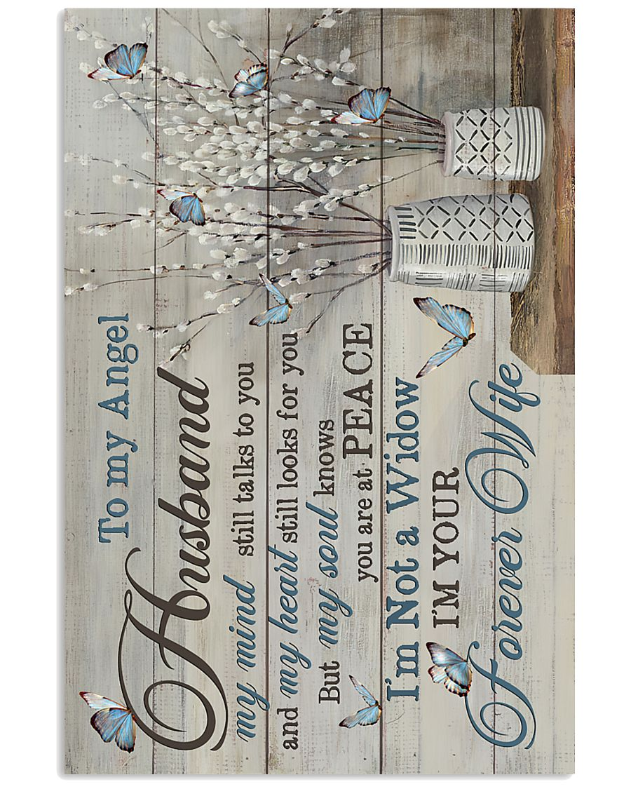Angel Husband - Butterfly - I'm Your Forever Wife 16x24 Poster