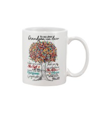 GRANDMOTHER TO GRAND SON IN LAW Mug front