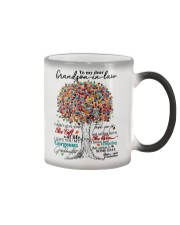 GRANDMOTHER TO GRAND SON IN LAW Color Changing Mug thumbnail