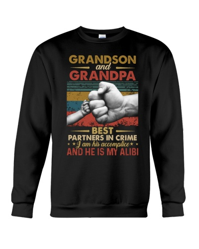 GRANDPA AND GRANDCHILDREN - TSHIRT