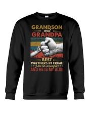 GRANDPA AND GRANDCHILDREN - TSHIRT Crewneck Sweatshirt thumbnail