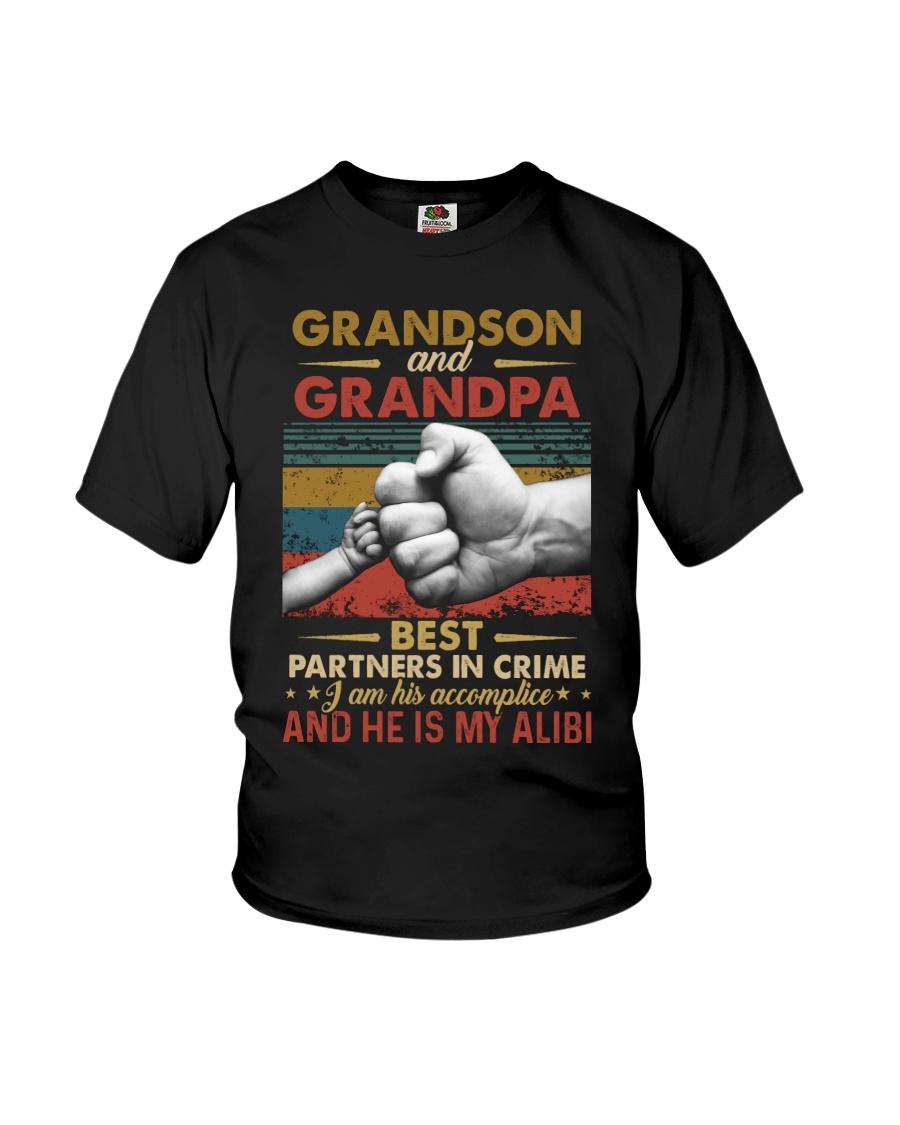 GRANDPA AND GRANDCHILDREN - TSHIRT Youth T-Shirt