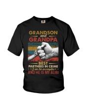 GRANDPA AND GRANDCHILDREN - TSHIRT Youth T-Shirt front