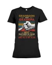 GRANDPA AND GRANDCHILDREN - TSHIRT Premium Fit Ladies Tee thumbnail