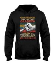 GRANDPA AND GRANDCHILDREN - TSHIRT Hooded Sweatshirt thumbnail