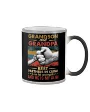 GRANDPA AND GRANDCHILDREN - TSHIRT Color Changing Mug thumbnail