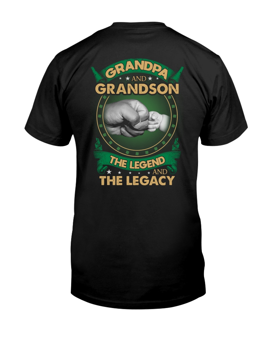 GRANDPA AND GRANSON - VINTAGE - THE LEGEND AND THE Classic T-Shirt