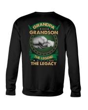 GRANDPA AND GRANSON - VINTAGE - THE LEGEND AND THE Crewneck Sweatshirt thumbnail