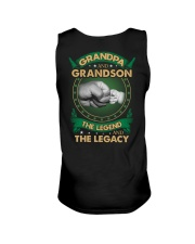 GRANDPA AND GRANSON - VINTAGE - THE LEGEND AND THE Unisex Tank thumbnail