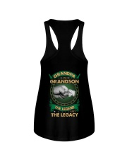 GRANDPA AND GRANSON - VINTAGE - THE LEGEND AND THE Ladies Flowy Tank thumbnail