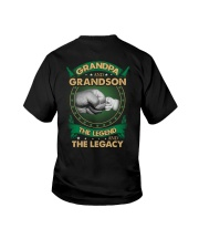 GRANDPA AND GRANSON - VINTAGE - THE LEGEND AND THE Youth T-Shirt thumbnail