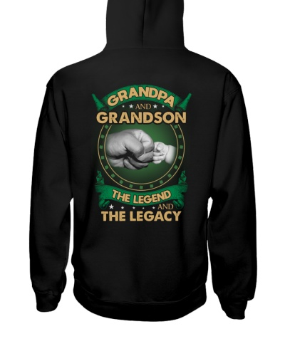 GRANDPA AND GRANSON - VINTAGE - THE LEGEND AND THE