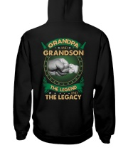 GRANDPA AND GRANSON - VINTAGE - THE LEGEND AND THE Hooded Sweatshirt thumbnail