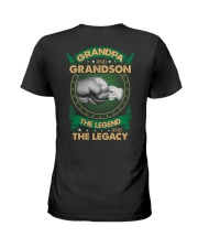 GRANDPA AND GRANSON - VINTAGE - THE LEGEND AND THE Ladies T-Shirt thumbnail