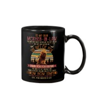 TO MY MOTHER-IN-LAW - LION Mug front