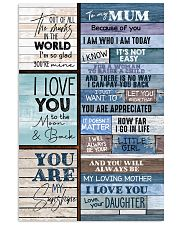 To My Mum - Poster 16x24 Poster front
