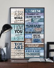 To My Mum - Poster 16x24 Poster lifestyle-poster-2