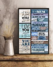 To My Mum - Poster 16x24 Poster lifestyle-poster-3