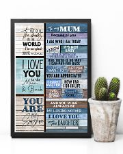 To My Mum - Poster 16x24 Poster lifestyle-poster-8