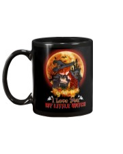 To Daughter - Halloween - I love You Little Witch Mug back