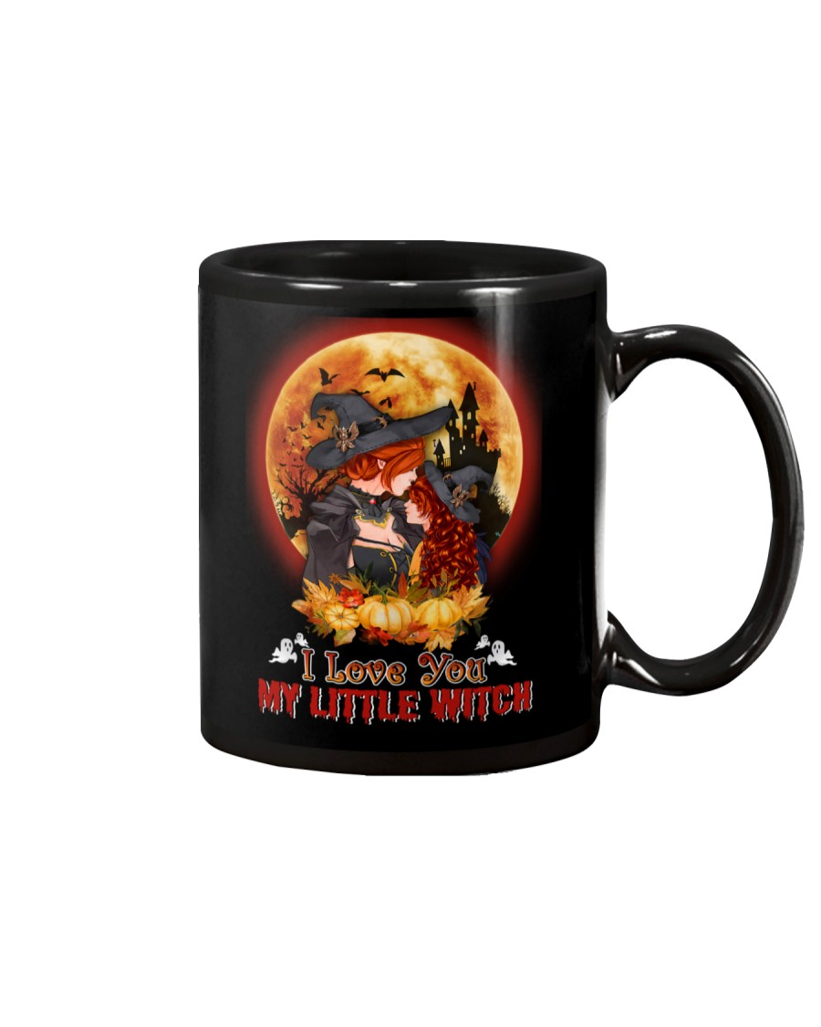 To Daughter - Halloween - I love You Little Witch Mug