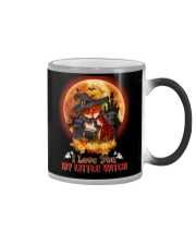To Daughter - Halloween - I love You Little Witch Color Changing Mug thumbnail