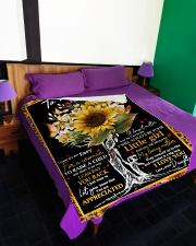 """To My Mom - Tree - Fleece Blanket Large Fleece Blanket - 60"""" x 80"""" aos-coral-fleece-blanket-60x80-lifestyle-front-01"""