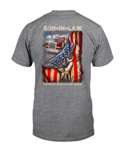 T-SHIRT - SON-IN-LAW - TRUCKER - THE MAN THE MYTH