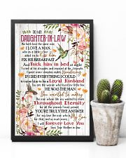 To My Daughter-in-law - Flowers - We Both Love 16x24 Poster lifestyle-poster-8