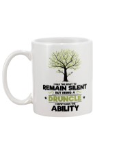 I had the right to remain silent Mug back