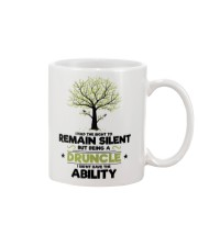 I had the right to remain silent Mug front