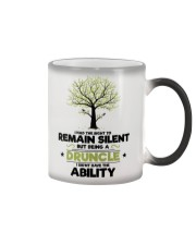 I had the right to remain silent Color Changing Mug thumbnail