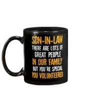 Son-in-law - You Volunteered - Mug Mug back