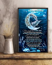 DAUGHTER - MOON DOLPHIN - KEEP YOUR FACE 16x24 Poster lifestyle-poster-3