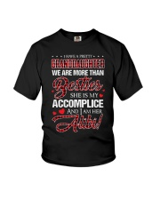 BESTIES - ACCOMPLICE - ALIBI Youth T-Shirt tile