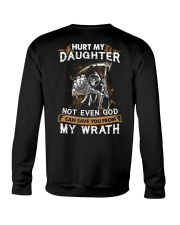 DAD AND DAUGHTER - WRATH - HURT MY DAUGHTER Crewneck Sweatshirt thumbnail