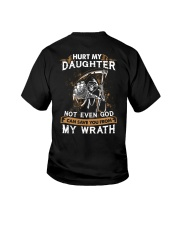 DAD AND DAUGHTER - WRATH - HURT MY DAUGHTER Youth T-Shirt thumbnail