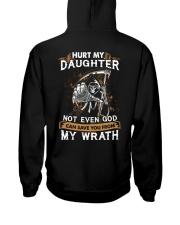 DAD AND DAUGHTER - WRATH - HURT MY DAUGHTER Hooded Sweatshirt thumbnail