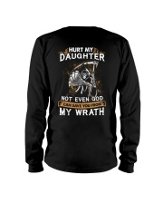 DAD AND DAUGHTER - WRATH - HURT MY DAUGHTER Long Sleeve Tee tile