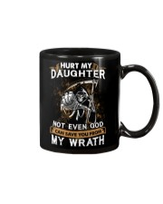 DAD AND DAUGHTER - WRATH - HURT MY DAUGHTER Mug tile