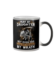 DAD AND DAUGHTER - WRATH - HURT MY DAUGHTER Color Changing Mug tile