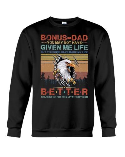 T-SHIRT - TO MY BONUS DAD - EAGLE