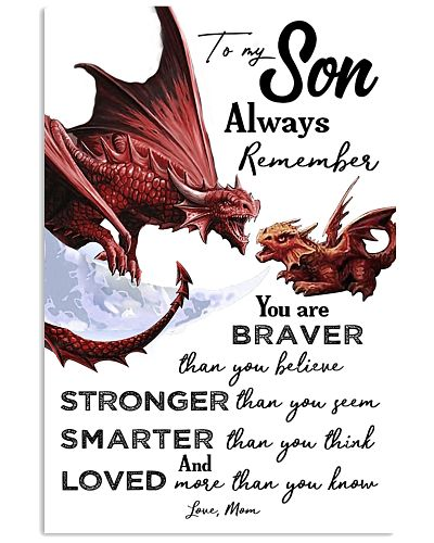POSTER - TO MY SON - DRAGON - ALWAYS