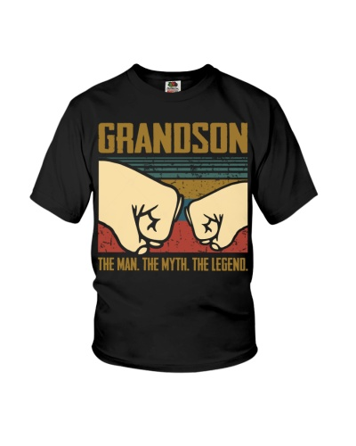 TO GRANDSON - HANDS - THE LEGEND
