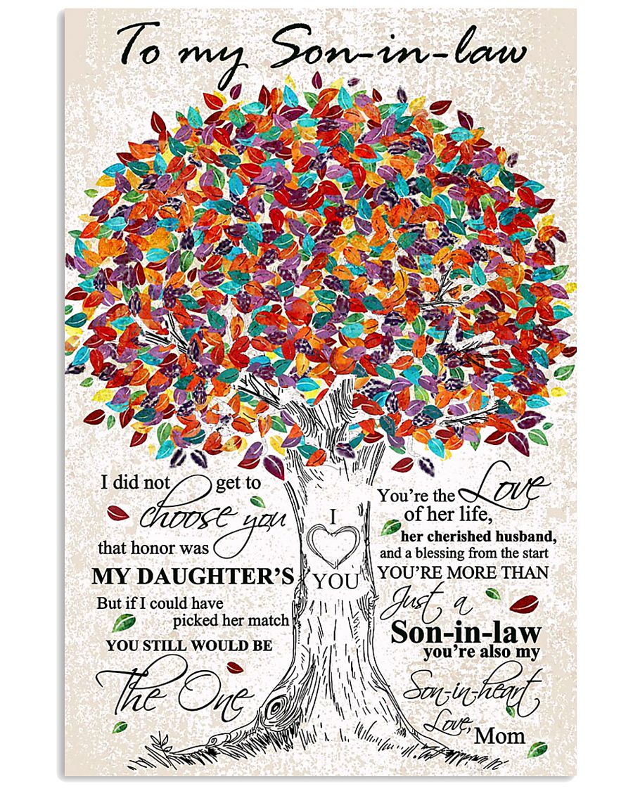 MOM TO SON-IN-LAW 16x24 Poster