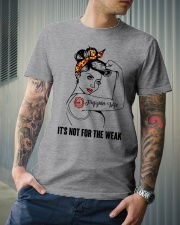 It's not for the weak Classic T-Shirt lifestyle-mens-crewneck-front-6