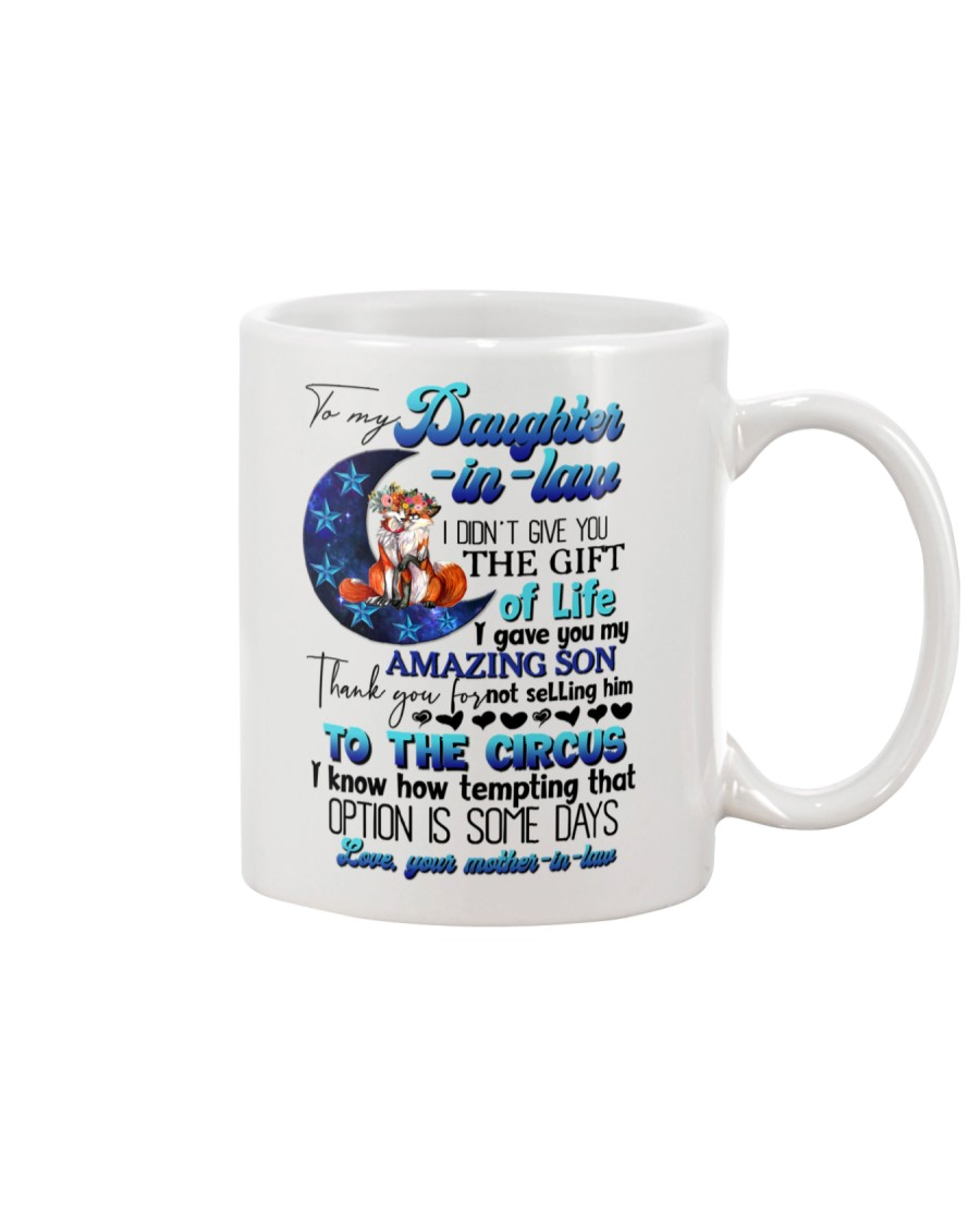 TO MY DAUGHTER-IN-LAW - FOX - CIRCUS Mug