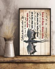 MOM TO SON - DRAGON - RIDE 16x24 Poster lifestyle-poster-3