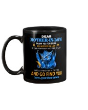 TO MY MOTHER-IN-LAW - DRAGON - THANK YOU Mug back